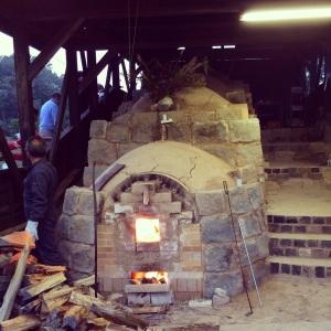 九谷焼陶芸村の登り窯
